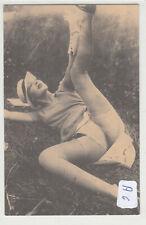1708, tolle Erotische Fotokarte Unterwäsche wohl Frankreich um 1910 !