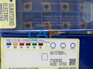 10Pcs/box NEW FOR Sumitomo WDXT073506-LACP300  CNC blade