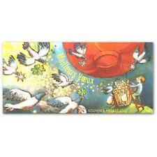 LOT DE 10 BLOCS SOUVENIR N°_45 VOEUX 2009 BLISTER OUVERT