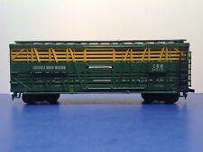 "HO Scale ""Chicago & North Western"" CNW 14373 40' Livestock Freight Train / AHM"