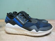 Mens Adidas Y3 Boost Yohji Yamamoto Blue/Black Lace Up Trainers  - Size 9