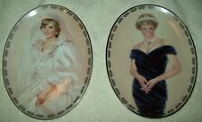 2 Bradford Exchange Diana Queen of Our Hearts People's Princess & Very Special
