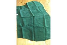 125cmx85cm BOTTLE GREEN Suede leather Crafts/Jewelery/Doll Shoes/CLothes etc
