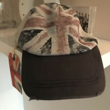 Reduced Sale Pepe Jeans coco Union Jack Baseball Cap Size M Approx 6+ RRP £  18.9. a04c8baf10aa