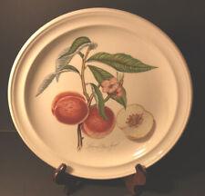 Pomona Portmeirion Grimwoods Royal George Peach Dinner Plate - Old Stamp