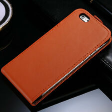Vertical Flip Leather Case Cover Wallet For Apple iPhone 4 5 5S+Screen Protector