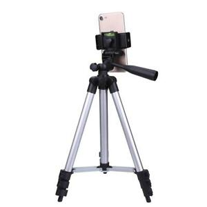 Universal Tripod Stand Telescopic Camera Phone Holder 106CM For iPhone Samsung