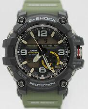 New Casio G-Shock Mudmaster Twin Sensor Analog Digital Men's Watch GG1000-1A3