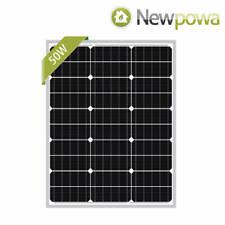 Open Box Newpowa 50-100W 12V Solar Panel Frame Damage Good Condition Off Grid