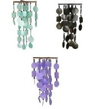Capiz Windchimes with Beads (Various Colors to choose from)