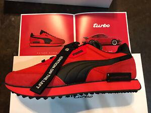 Porsche Puma Legacy Future Rider Turbo Men's Sneakers Size US Size 12 Red Prada