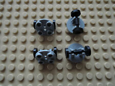 Lego 4 x Platte 2655 alt hellgrau 2x2 rund + Felge 2496   4552 6597 4714 6397