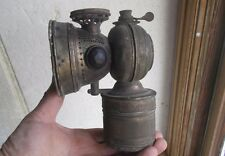 ANTIQUE BICYCLE OR EARLY MOTORCYLE CARBIDE LAMP 20TH CENTURY MFG CO