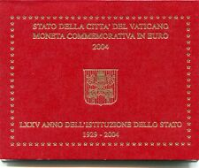 2 euro commemorativi Vaticano dal 2004 al 2019