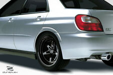 02-07 Fits Subaru Impreza 4DR STI Look Duraflex Rear Fender Flares!!! 115335