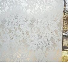 Con-Tact Clear Covering Self-Adhesive Vinyl Privacy Film And Liner Frosty White