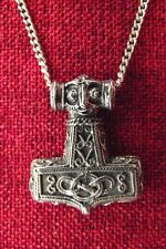 Thor's Hammer Viking Pendant Thor Thors Mjollnir Norse Asgard Pewter Necklace