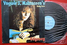 YNGWIE J MALMSTEEN ODYSSEY SIGNED BULGARIAN PRESS LP
