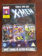 Marvel X-Men triple DVD set - over 7 hours of action - Brand New