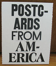 New SIGNED Numbered Alec Soth Jim Goldberg Susan Meiselas Postcards From America