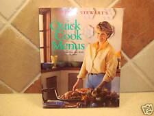 Martha Stewart's Stewart Quick Cook Menus Cookbook NEW