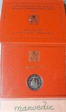 manueduc  Vaticano  2016  CARTERA  2 €  GENDARMERÍA VATICANA Conmemorativa  UNC
