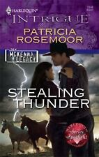Stealing Thunder (Harlequin Intrigue) by Patricia Rosemoor-Paperback-YY 1529