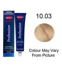 Indola Profession Permanent Colour 60ml 10.03 - Lightest Natural Gold Blonde