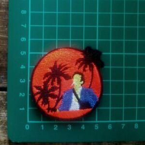 SCARFACE IRON ON  EMBROIDERED PATCH UK SELLER HIP HOP