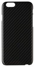 Xqisit iplate Carbono Estuche Para iPhone 6/6s-Negro