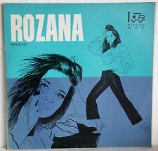 "12"" Vinyl - ROZANA - Pulgadas Con Mario Patron Autografi"