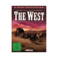 STEPHEN IVES - THE WEST: DIE EROBERUNG DES WESTENS 4 DVD DOKUMENTATION NEU