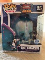 "Funko Pop Myths The Kraken #25 6"" Funko Shop Exclusive In Hand Mint"