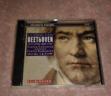 Ludwig Van Beethoven Violin Concerto CD Romances New Sealed Digital Recording