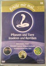 DVD Erklär mir mal... 08: Pflanzen und Tiere, Insekten und Reptilien Neu & OVP