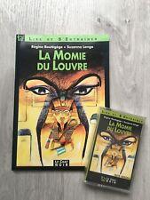 Libro + cassette curso de frances principiante La momie du Louvre - le chat noir