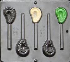 Ear Lollipop Chocolate Candy Mold 3459