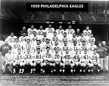 1950 PHILADELPHIA EAGLES 8X10 TEAM PHOTO FOOTBALL PICTURE NFL
