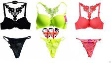 Hot Sexy Bra & Strap Sets,Lingerie Sets,Push Up Bra ,3 Colours