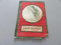 Booklet Vintage Charm Female Pharmaceutical Pills Pink