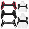 Sexy Mens Neoprene Spandex Body Chest Restrain Harness Strap Belt Fancy Clubwear