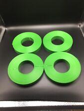 Green Slat Wall Strips Lot 4 -New-
