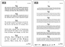 Jaeger Eye Chart, Near Vision Reading Test Plastic Chart