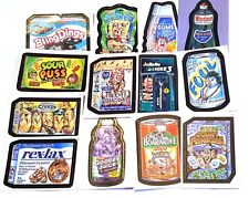 Mixed Lot of 13 Fun Wacky Packages Stickers/Cards