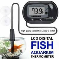 LCD Digital Fish Tank Reptile Aquarium Water Meter Thermometer Temperature US