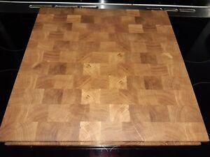 Butchers Block Solid Oak End Grain Chopping Board