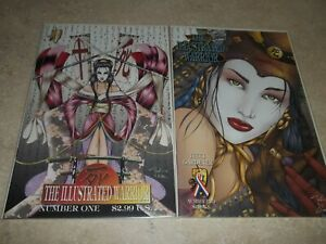 Shi: The Illustrated Warrior #1 & #2; Crusade Lot of 2  NM
