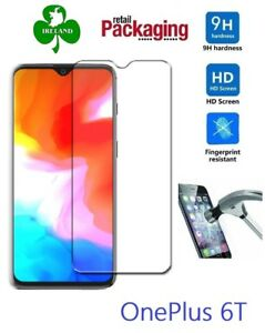 Premium Tempered Glass™ For OnePlus 6T 1+6T Tempered Screen Protector Guard New
