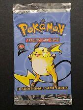 EMPTY Base Set 2 Booster Pack Pokemon Card Holo Shiny Design 3