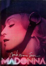 MADONNA 2006 CONFESSIONS  WORLD TOUR CONCERT PROGRAM BOOK / STICKERS / EX 2 NMT